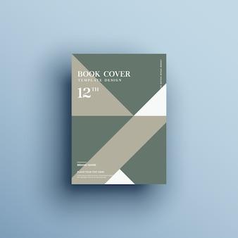Okładka książki o geometrycznych kształtach