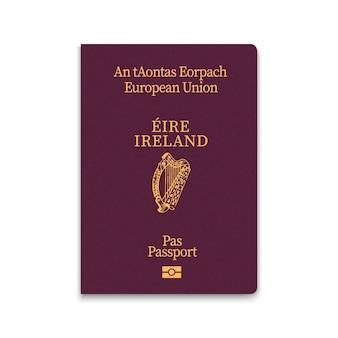 Okładka paszportu irlandii