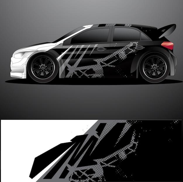 Oklejanie grafiki na samochód rajdowy