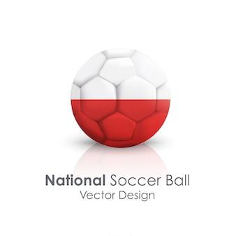 Okrąg kula narodowa konkurencji zbliżenie