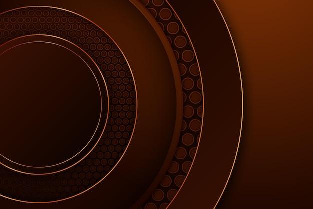Okrągłe kształty luksusowe tło