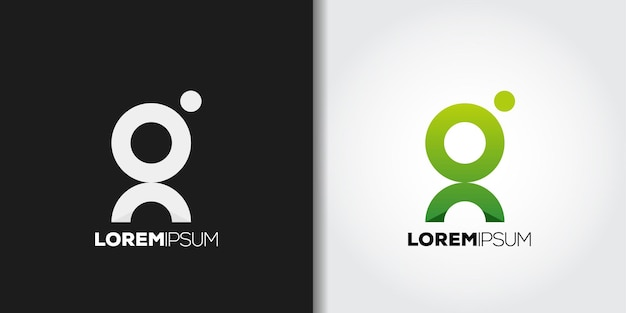 Okrągłe logo litery g
