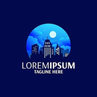 Okrągłe logo miasta