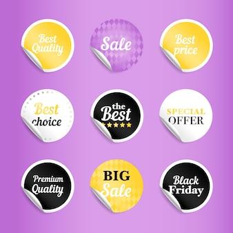 Okrągłe naklejki z najlepszą ofertą sprzedaży.