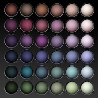 Okrągły, wielokolorowy, pastelowy, jasnobrązowy kremowy oliwkowy