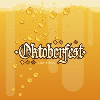 Oktoberfest beer festival banner ozdoba świąteczna