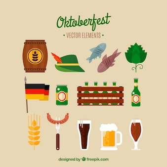 Oktoberfest, płaskie elementy