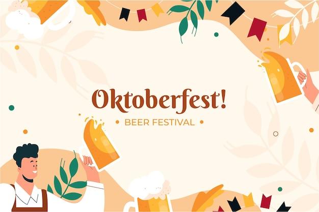 Oktoberfest w tle