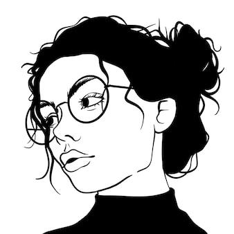 Okulary dziewczyny