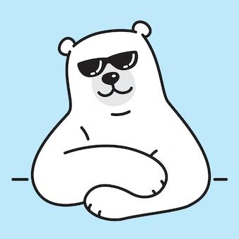 Okulary przeciwsłoneczne polar bear