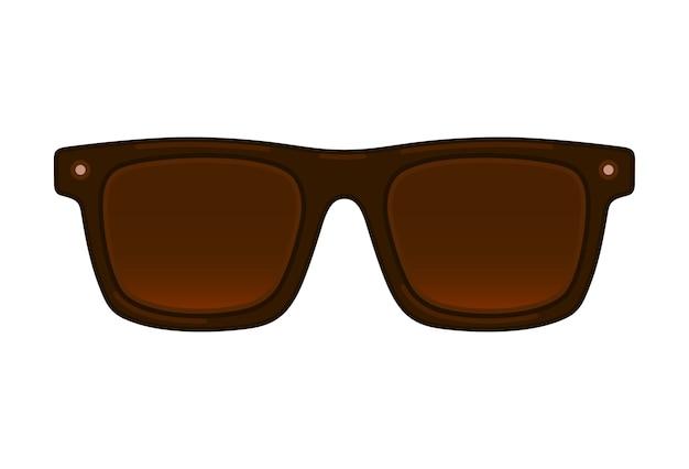 Okulary przeciwsłoneczni wektoru linii ilustracja