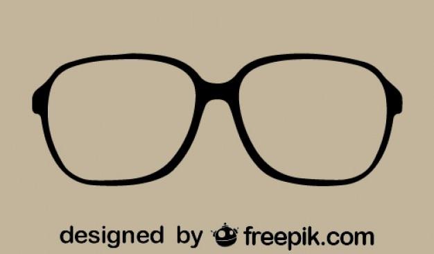 Okulary w stylu vintage, ikony