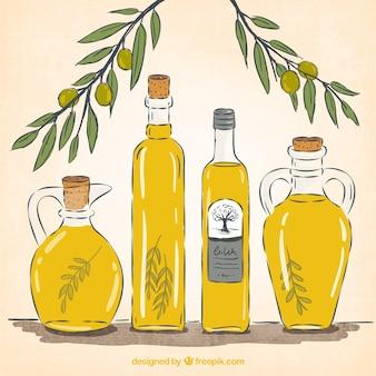 Oliwa z oliwek butelek