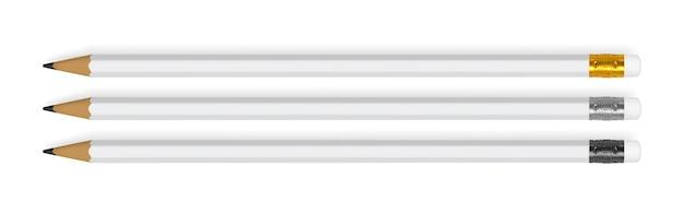 Ołówek na białym tle