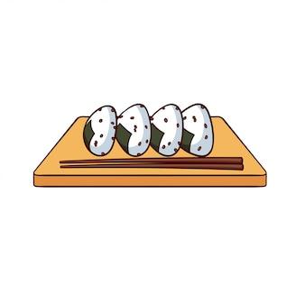 Onigiri to typowe jedzenie z japonii