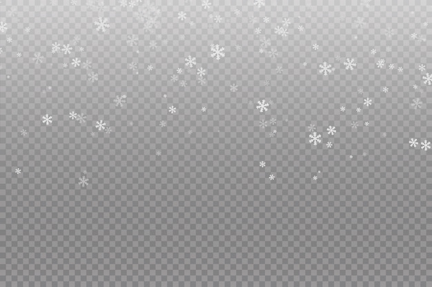 Opady śniegu śnieg w tle. falling christmas