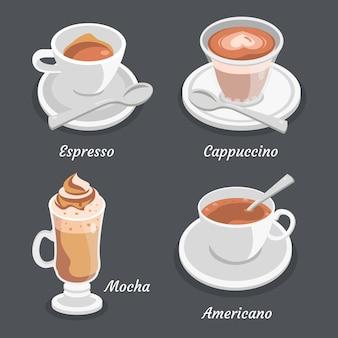 Opakowania z kawą