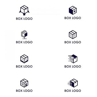 Opakowanie logo w pudełku