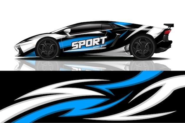 Opakowanie na samochód sportowy