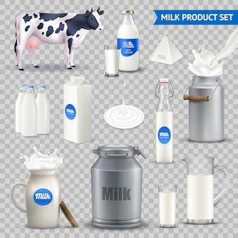 Opakowanie pojemników na mleko