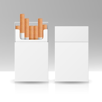 Opakowanie pudełko papierosów