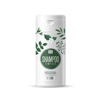 Opakowanie szablonu ekologicznej marki kosmetycznej