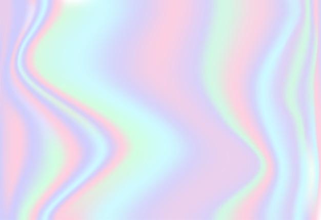Opalizujący holograficzny tło