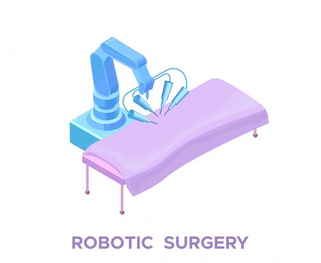 Operujący chirurg chirurgiczny, inteligentna technologia robotyczna