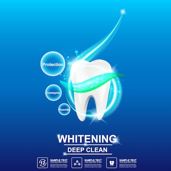 Opieka stomatologiczna i zęby na tle koncepcji.