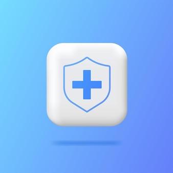 Opieka zdrowotna zdrowie medycyna szpital laboratorium ikona zdrowie pomoc medycyna icons web logobutton