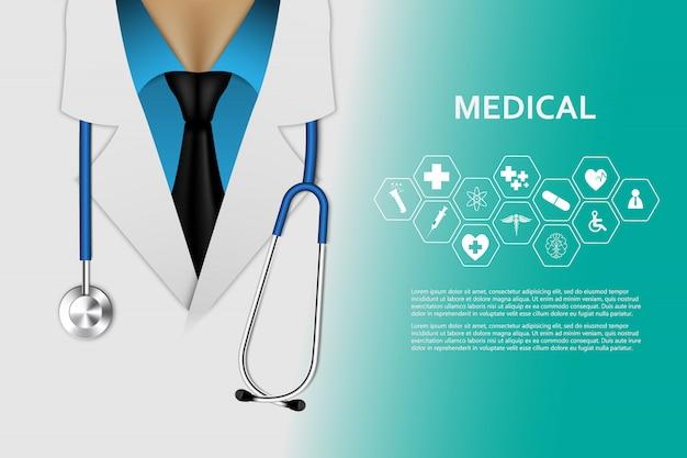 Opieki zdrowotnej innowaci medycznej pojęcia tło