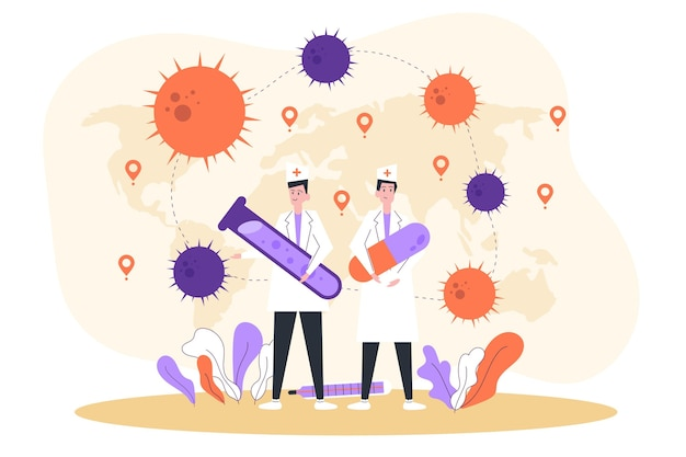 Opracowanie antidotum na koronawirusa