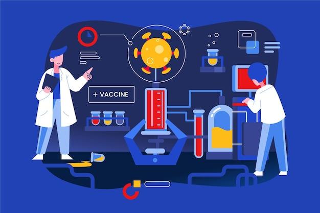 Opracowanie szczepionki koronawirusowej z lekarzami