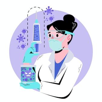 Opracowanie szczepionki koronawirusowej