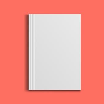 Opróżnij okładkę magazynu, albumu lub książki