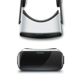 Optyczny wyświetlacz na głowie lub okulary wirtualnej rzeczywistości z przodu