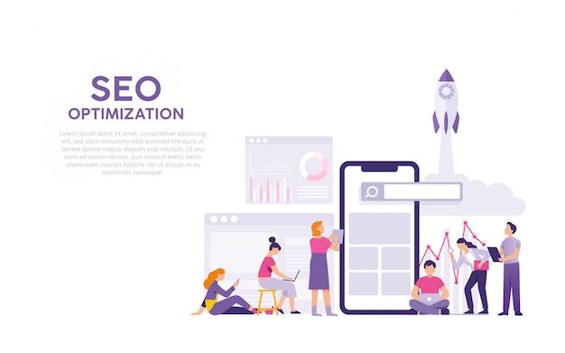 Optymalizacja wyszukiwarek lub seo