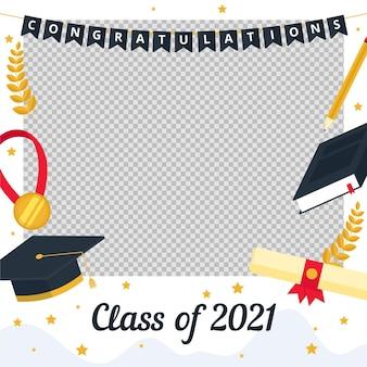 Organiczna klasa płaska szablonu ramy 2021