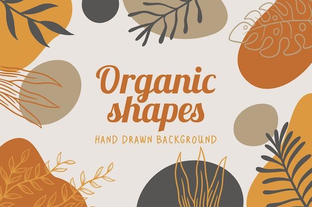 Organiczne kształty tła