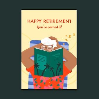 Organiczne mieszkanie emerytalne z życzeniami