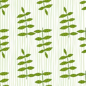 Organiczny kwiatowy wzór. doodle pozostawia tapetę.