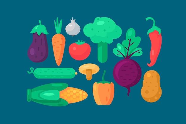 Organiczny zestaw warzyw vegetable