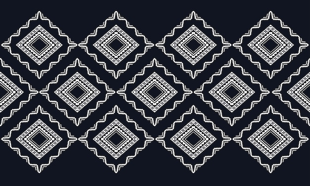Orientalny wzór geometryczny etniczne. wzór dla tkaniny, tła, tapety