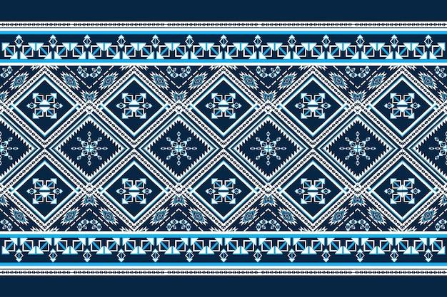 Orientalny wzór geometryczny etniczne. wzór