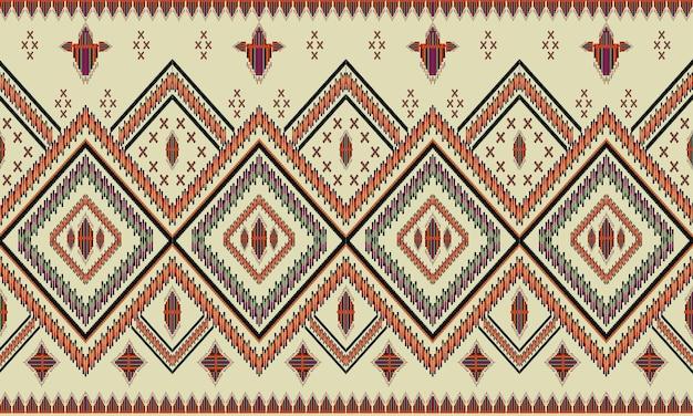 Orientalny wzór geometryczny etniczne