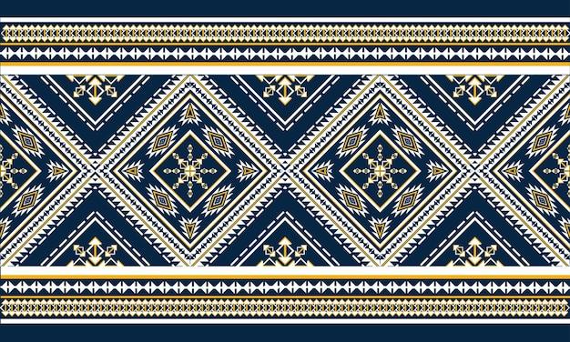 Orientalny wzór geometryczny etniczny. wzór
