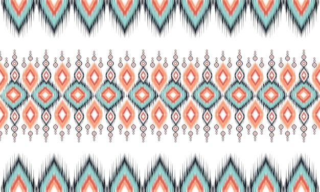 Orientalny wzór geometryczny etniczny
