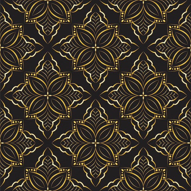 Ornament arabeska wzór