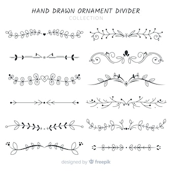 Ornament divider collectio