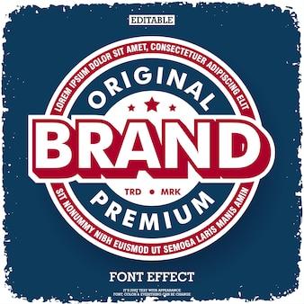 Oryginalna marka firmy o najwyższej jakości